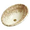 KOHLER Centerpiece Biscuit Drop-in Oval Bathroom Sink