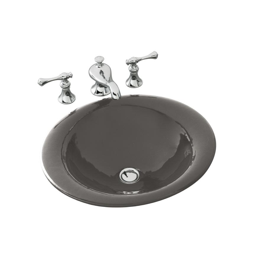 shop kohler cast iron bathroom sink at lowes