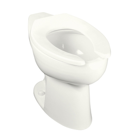 KOHLER Highcliff Chair Height White 11-in Rough-In Elongated Toilet Bowl