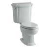 KOHLER Portrait Ice Grey 1.6-GPF (6.06-LPF) 12 Rough-In Elongated 2-Piece Comfort Height Toilet