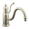 KOHLER Antique 1-Handle Low-Arc Kitchen Faucet