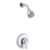 KOHLER Coralais Polished Chrome 1-Handle Shower Faucet Trim Kit