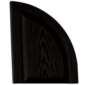 Vantage 2-Pack Black Raised Panel Vinyl Exterior Shutters (Common: 14-in x 17-in; Actual: 13.875-in x 17.3125-in)
