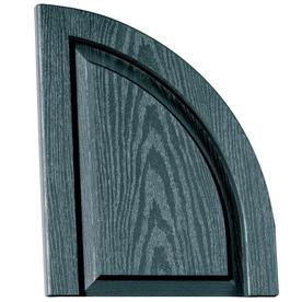 Vantage 2-Pack Wedgewood Blue Raised Panel Vinyl Exterior Shutters (Common: 14-in x 17-in; Actual: 13.875-in x 17.3125-in)