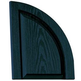 Vantage 2-Pack Indigo Blue Raised Panel Vinyl Exterior Shutters (Common: 14-in x 17-in; Actual: 13.875-in x 17.3125-in)