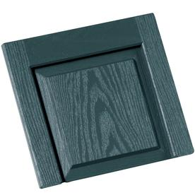 Vantage 2-Pack Wedgewood Blue Vinyl Exterior Shutters (Common: 13-in x 14-in; Actual: 13.06-in x 13.875-in)