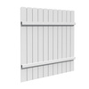 FREEDOM White Privacy Vinyl Fence Panel (Common: 6-ft; Actual: 5.68-ft)