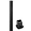 Barrette 1-1/2 x 1-1/2 x 33 Chatham Black Aluminum Porch Post Kit