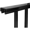 Barrette Somerset 70.75-in x 33-in Black Aluminum Porch Railing