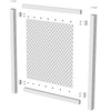 Barrette 3-in x 52-in x 7.75-ft White Lattice Cap