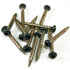 Barrette 1-1/2-in Green Vinyl Lattice Screws
