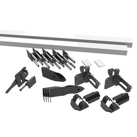 Freedom White Vinyl Privacy Fence Gate Kit (Common: 0.25-ft x 6-ft; Actual: 2.75-ft x 5.89-ft)