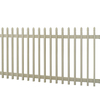 Barrette Select 48-in x 8-ft Desert Sand Gothic Picket Vinyl Fence Panel