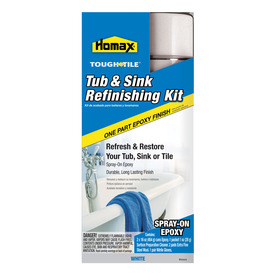 Homax 32 fl oz Interior High-Gloss Spray On Tub and Sink Refinishing Kit
