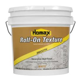 Homax 2-Gallon Interior Smooth Texture White Paint