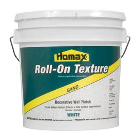Homax Roll-On Texture White Flat Sandstone Water-Based Interior Paint (Actual Net Contents: 256-fl oz)