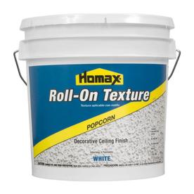 Homax Roll-On Texture White Flat Water-Based Interior Paint (Actual Net Contents: 256-fl oz)