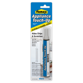 Homax 1 fl oz White Appliance Touch-Up Paint