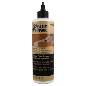 Tapes Flooring Adhesives Blue Hawk 16-fl oz Tube Laminate Adhesive