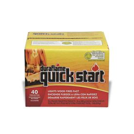 Duraflame 40-Pack 1.55 lbs Firestarter