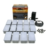 Kerr Lighting 14-Light Gray Low-Voltage Path Light Kit