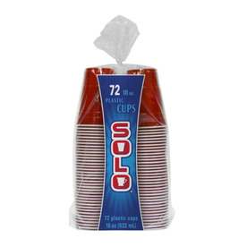 SOLO 72-Count 18-oz Red Cups