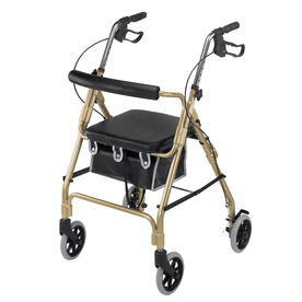 DMI Gold Fold-Up/Easy Storage Rollator