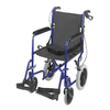 DMI Blue Fold-Up/Easy Storage Transport Chair