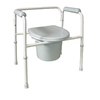 MABIS 10.3-in 7-Quart Bedside Commode