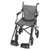 DMI Black Fold-Up/Easy Storage Transport Chair