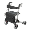 HealthSmart Titanium Fold-Up/Easy Storage Rollator