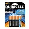 Duracell Ultra 4-Pack AA Alkaline Batteries