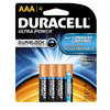 Duracell Ultra 4-Pack AAA Alkaline Batteries