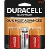 Duracell 2-Pack PP3 (9V) Alkaline Batteries