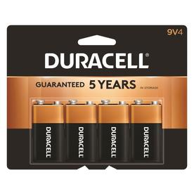 Duracell 4-Pack 9V Alkaline Batteries