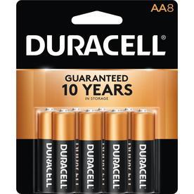 Duracell 8-Pack AA Alkaline Batteries