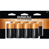 Duracell 8-Pack D Alkaline Batteries