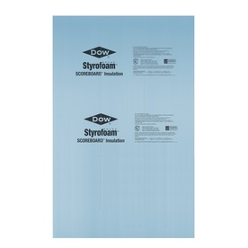 Dow R5 Unfaced Polystyrene Foam Board Insulation (Common: 1-in x 8-ft x 4-ft; Actual: 0.937-in x 7.937-ft x 3.875-ft)