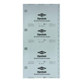 R5 Unfaced Polystyrene Foam Board Insulation (Common: 0.5-in x 8-ft x 4-ft; Actual: 0.437-in x 7.937-ft x 3.875-ft)