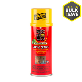 Dow GREAT STUFF Gaps and Cracks 12-fl oz Spray Foam Insulation