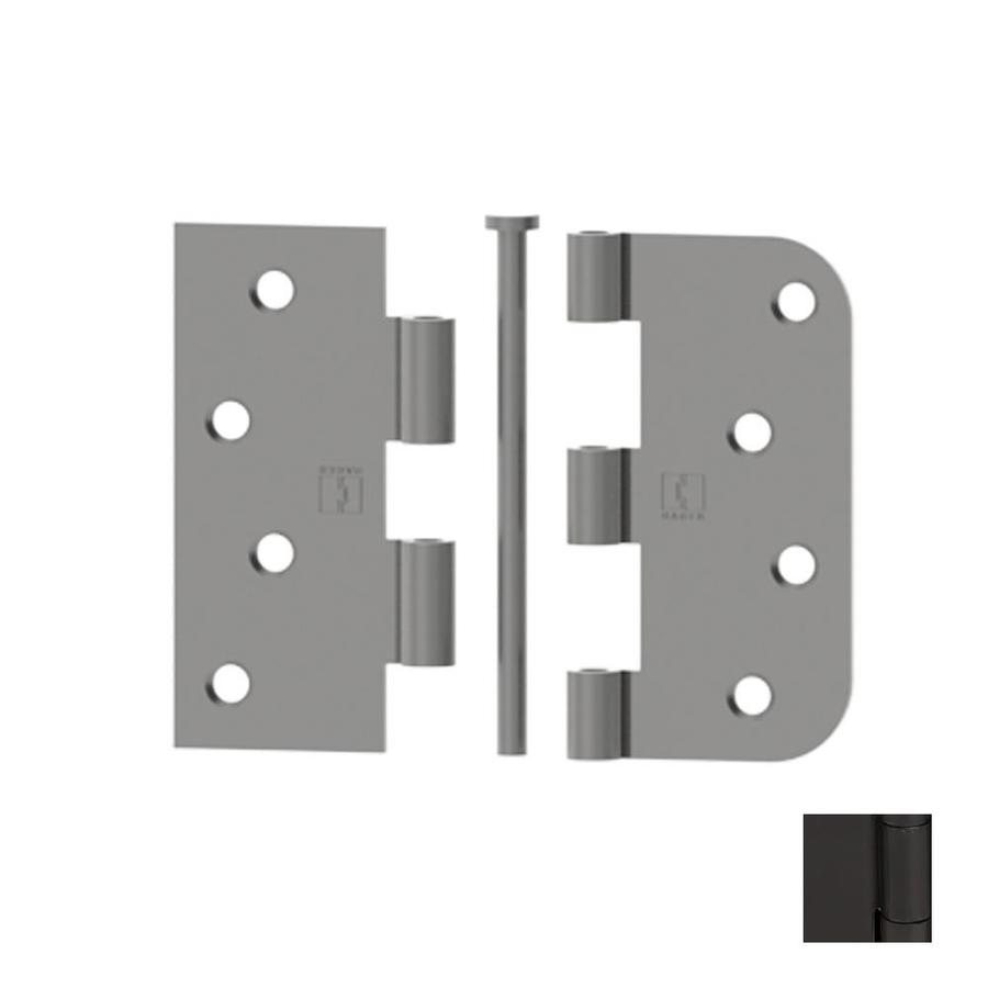 Shop hager 4 in oil rubbed bronze entry door hinge at lowes com