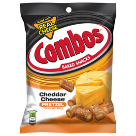 Mars 6.3-oz Combos Cheddar Cheese Pretzel Baked Snacks