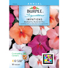 Burpee Butterfly Hybrid Mix Impatiens Seed Packet
