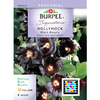 Burpee Black Beauty Hollyhock Seed Packet