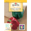 Burpee Crispy Hybrid Sweet Pepper Seed Packet