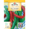 Burpee Kung Pao Hybrid Hot Pepper Seed Packet