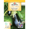 Burpee Black Knight Eggplant Seed Packet
