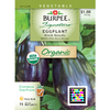 Burpee Eggplant, Black Beauty Eggplant Seed Packet
