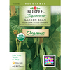Burpee Blue Lake White-Seeded Garden Bean Seed Packet