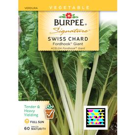Burpee Swiss Chard Vegetable Seed Packet